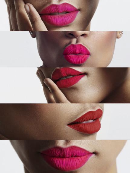 Test. Scegli il rossetto rosso per le tue labbra