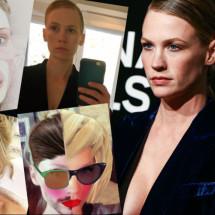 Auguri January Jones, la beauty e selfie addicted più ironica del web
