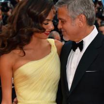 Amal incinta di due gemelli, George Clooney presto papà