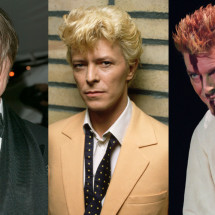 Capelli glam rock come David Bowie
