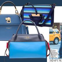 Blue Klein: le dieci it-bag dalle sfumature dell'oceano