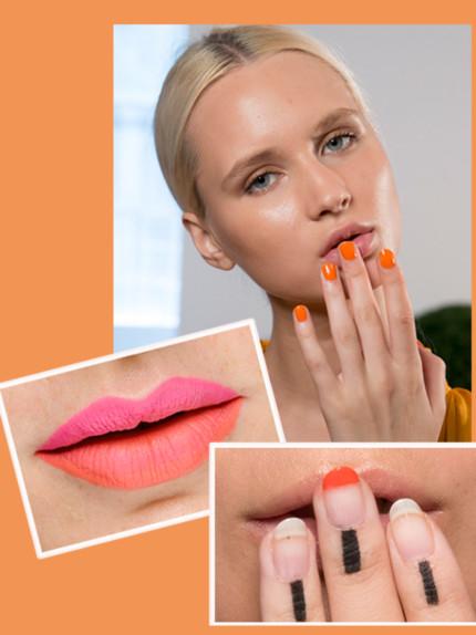 Make-up, orange is the new black