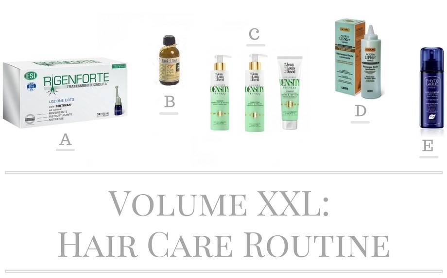 Oggetti e prodotti di cura di capelli