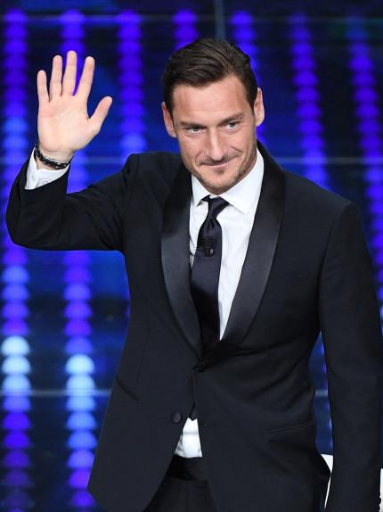 Sanremo 2017, Francesco Totti sceglie la classica minestrina