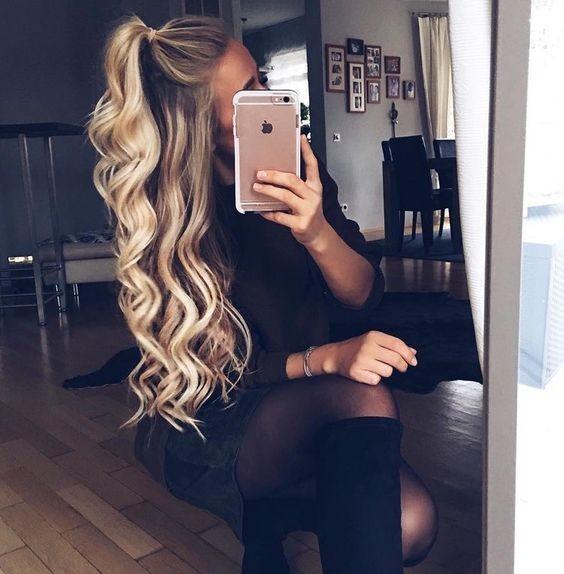 Capelli mossi: le acconciature più ricercate - Glamour.it Uberhaxornova Tumblr Long Hair