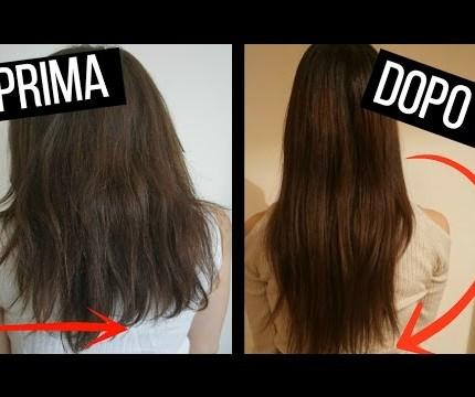 Tagliare i capelli 1 cm