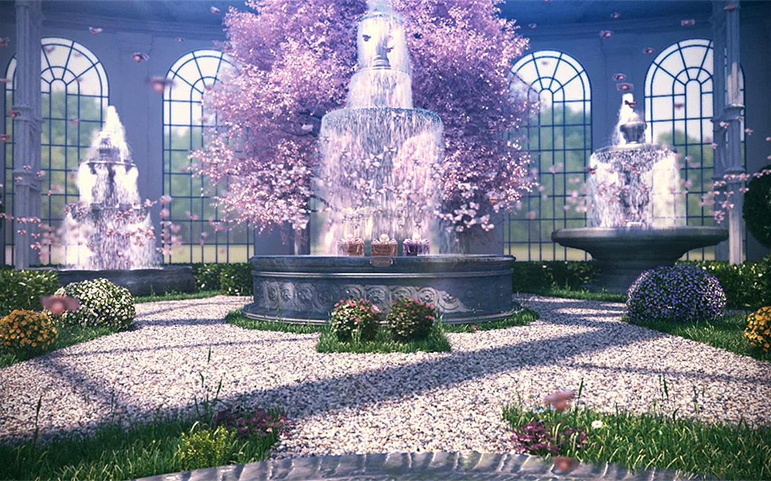 Una signorina nel giardino delle meraviglie glamour.it