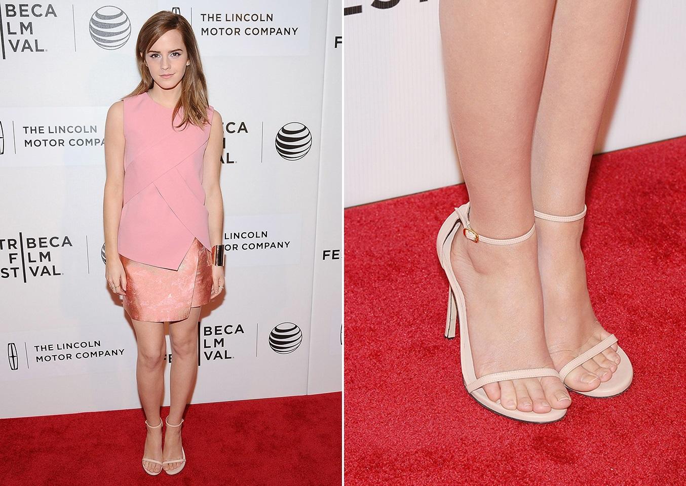 buy popular 24a4a 43692 I piedi più belli? Quelli di Emma Watson - Glamour.it