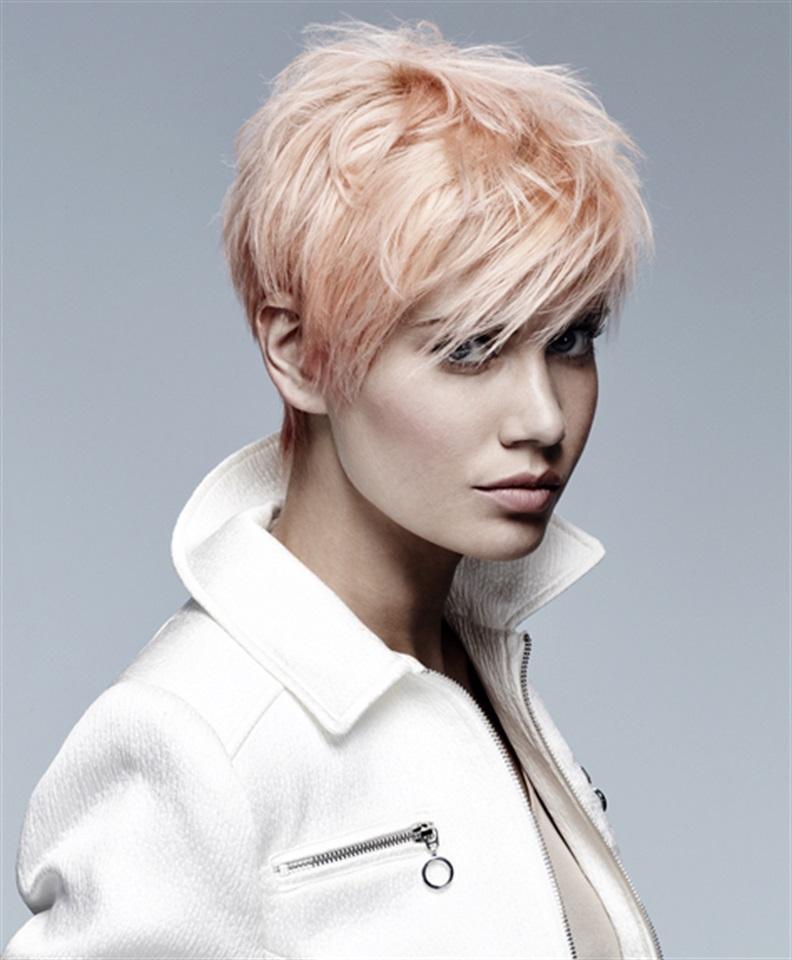 Capelli corti biondo ghiaccio – Tagli per capelli corti d3af5dea780e