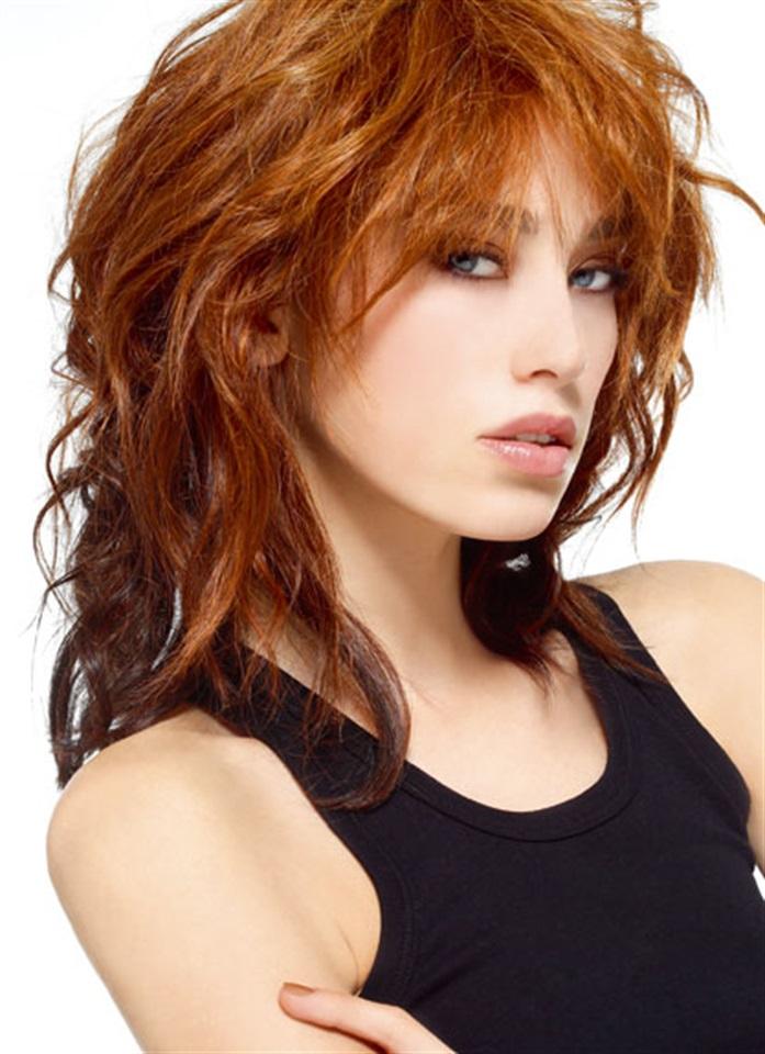 Foto taglio capelli sfilati