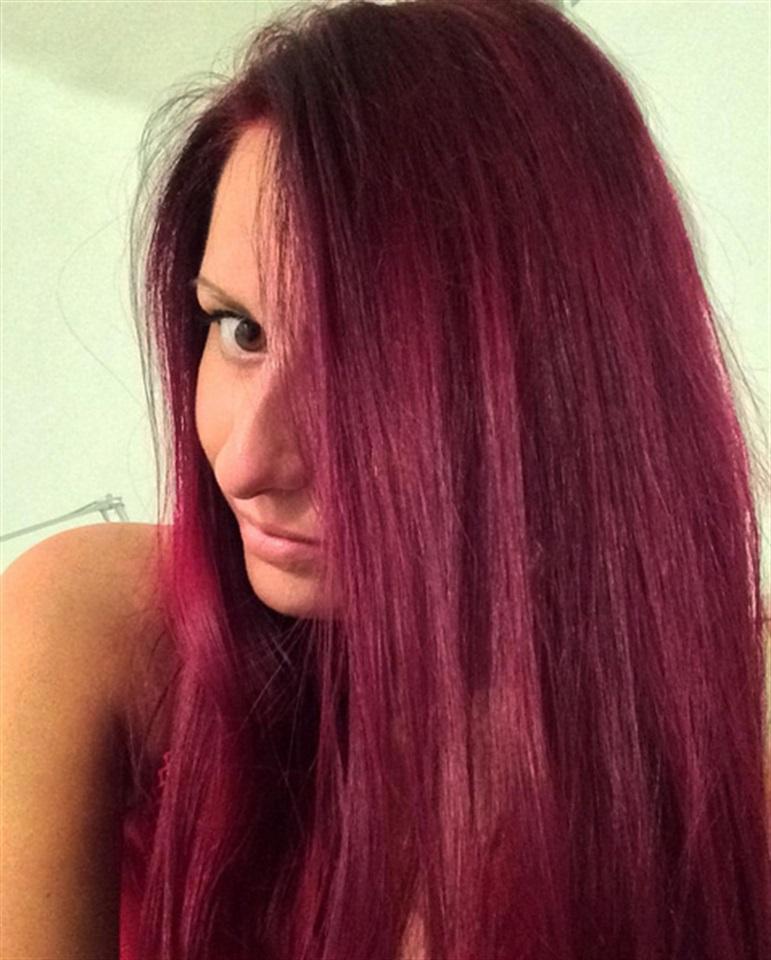 Colore capelli vinaccio