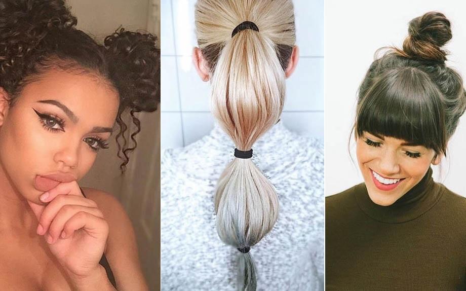 Acconciature facili capelli lunghi e lisci
