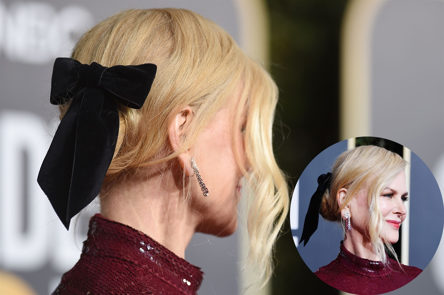 Nicole Kidman subisce l effetto Kate e sceglie un acconciatura col ... d21d33448f6a