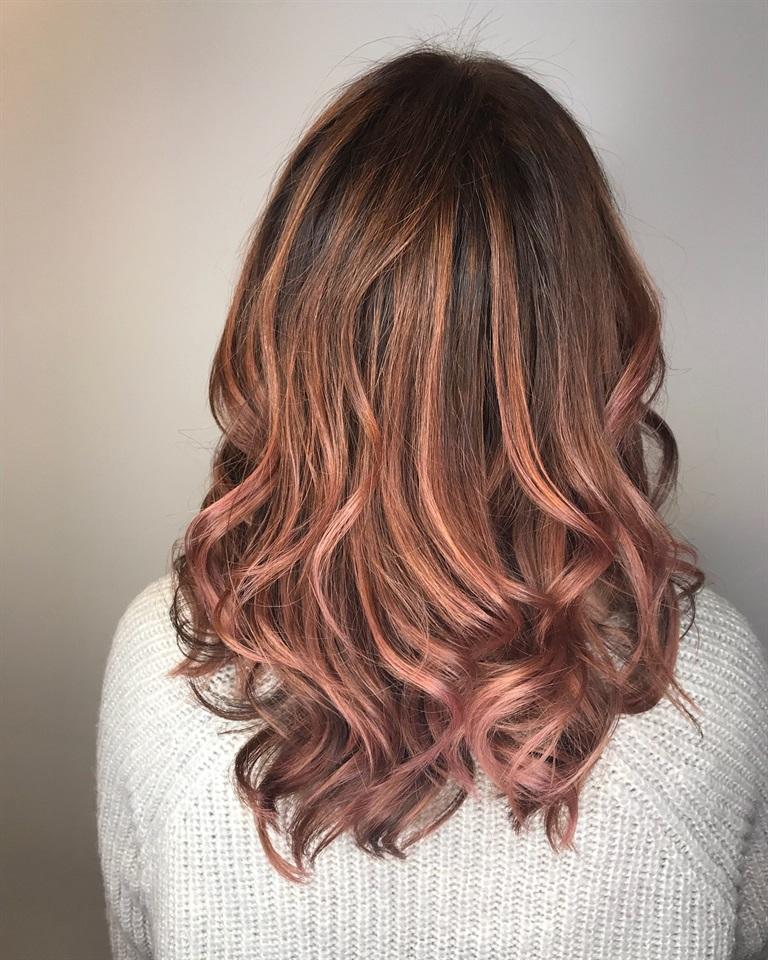 Capelli Rose Brown Il Nuovo Trend Per La Primavera 2018 Glamour It