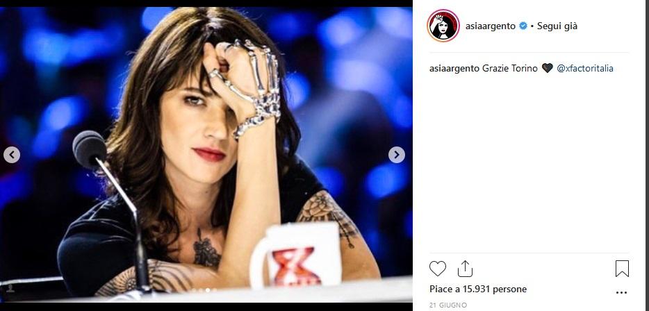 vendita calda reale anteprima di grande liquidazione Asia Argento e tutti quei look che ci perderemo a X Factor ...