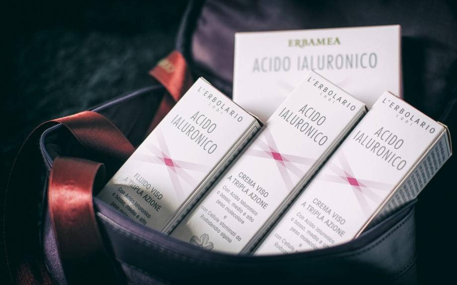 cura della pelle, bellezza, acido ialuronico erbolario