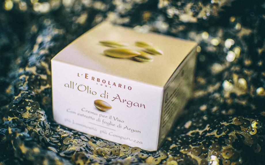 trattamenti anti age, olio d'argan, crema viso erbolario