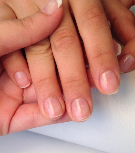 risultato pshine manicure giapponese