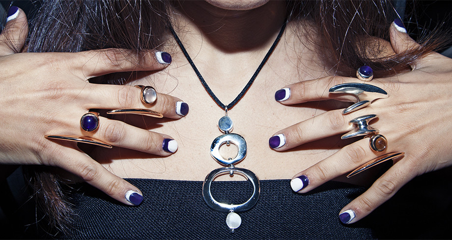 ruffian nail art trend