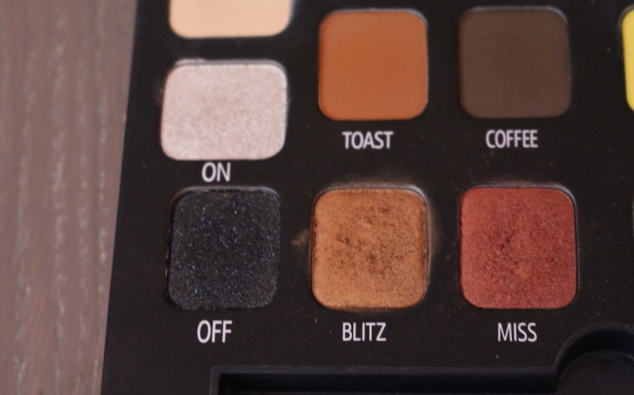 "Ombretto ""Blitz"" dalla palette ""Different"""