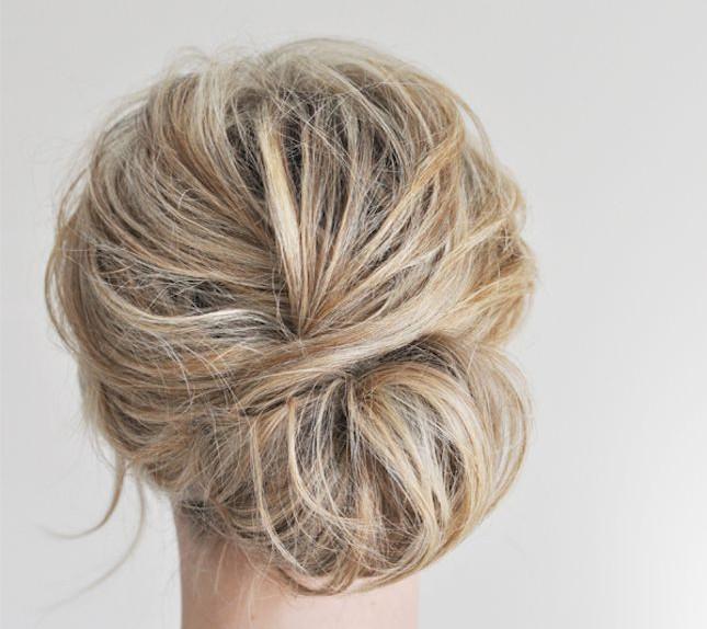 Tutorial acconciature raccolte capelli medi