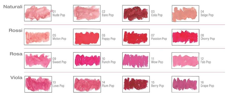 16 colori Clinique color Pop Primer