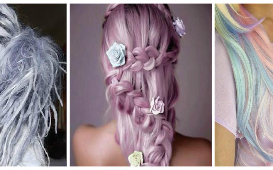 Trend Unicorn Hair And Make Up Capelli Colorati E Favole Glamour It