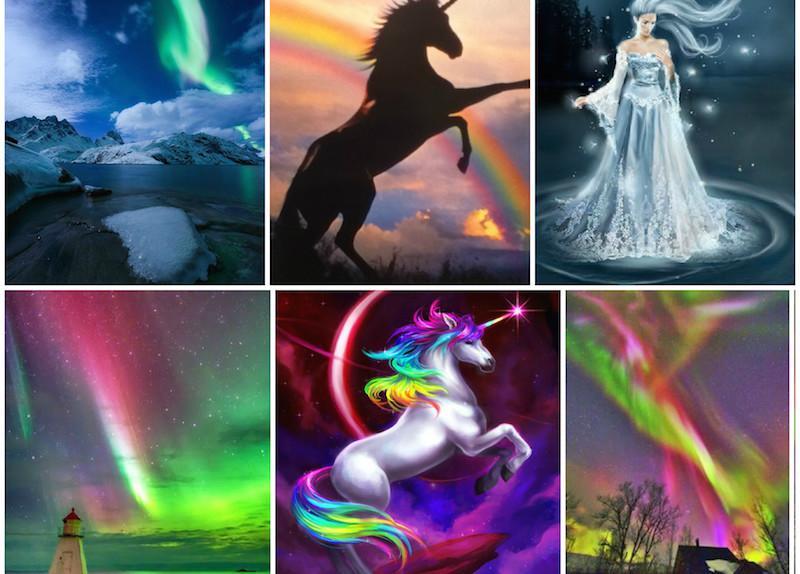 Trend Unicorn Hair And Make Up Capelli Colorati E Favole Glamourit