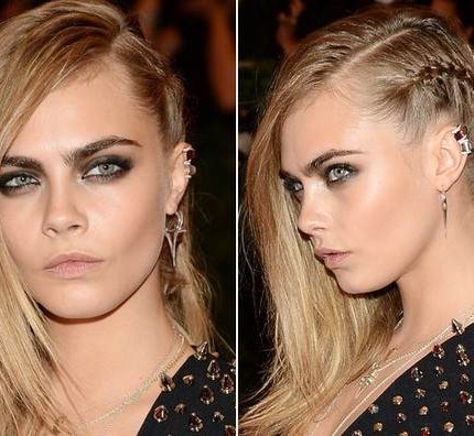 How to: la treccia punk di Cara Delevingne
