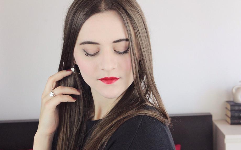 Labbra rosse di giorno? Si con il mio makeup tutorial jolieidee