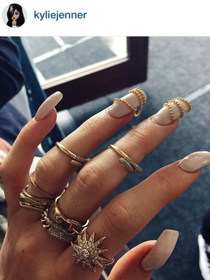Insta nails, le unghie delle star su Instagram