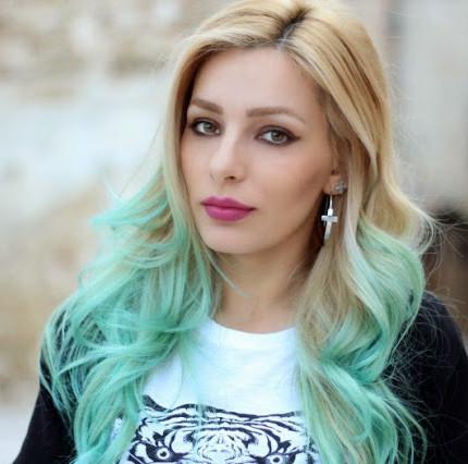 Capelli turchini fai da te  Prova i gessetti colorati - Glamour.it c0d4974bd9cb