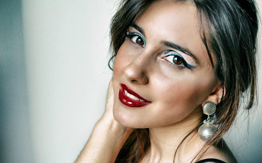 make up da sera