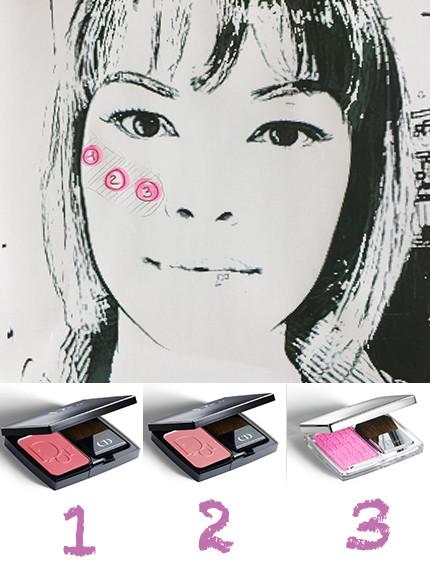 fard Dior Nayla C make up artist Davide Frizzi beauty reporter gamour it