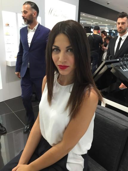 Alessia Sica Make up Dior