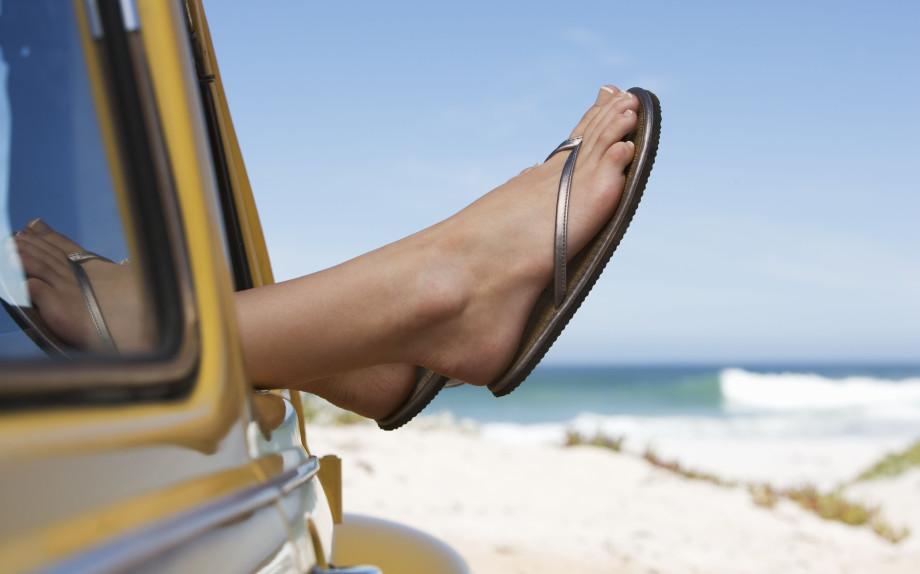 Pedicure: piedi perfetti a regola d'arte.  E le unghie?