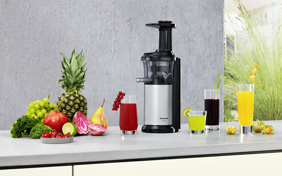 Estrattore Slow Juicer Panasonic : Un estate slow juicing con i succhi di frutta fatti in casa