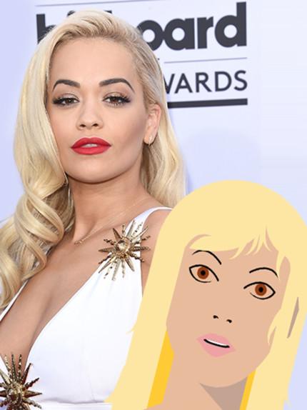 Il beauty identikit di Rita Ora