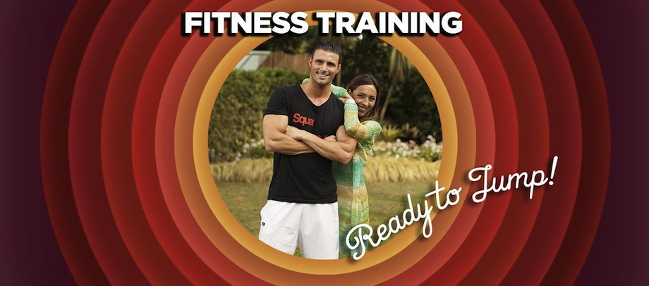 Fitness Training - Ready to Jump!