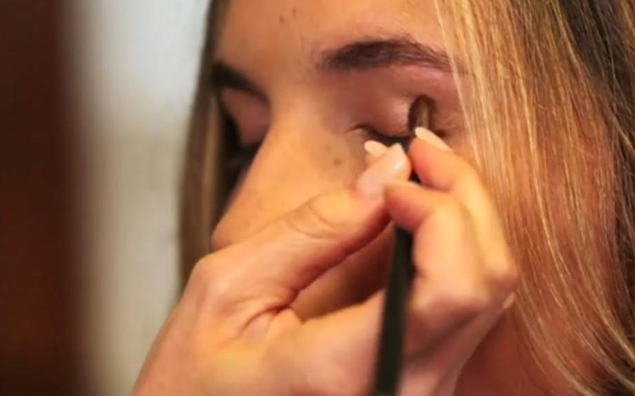 Labbra rosa e occhi effetto naturale