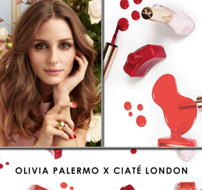 olivia Palermo for Ciaté London smalti beauty news