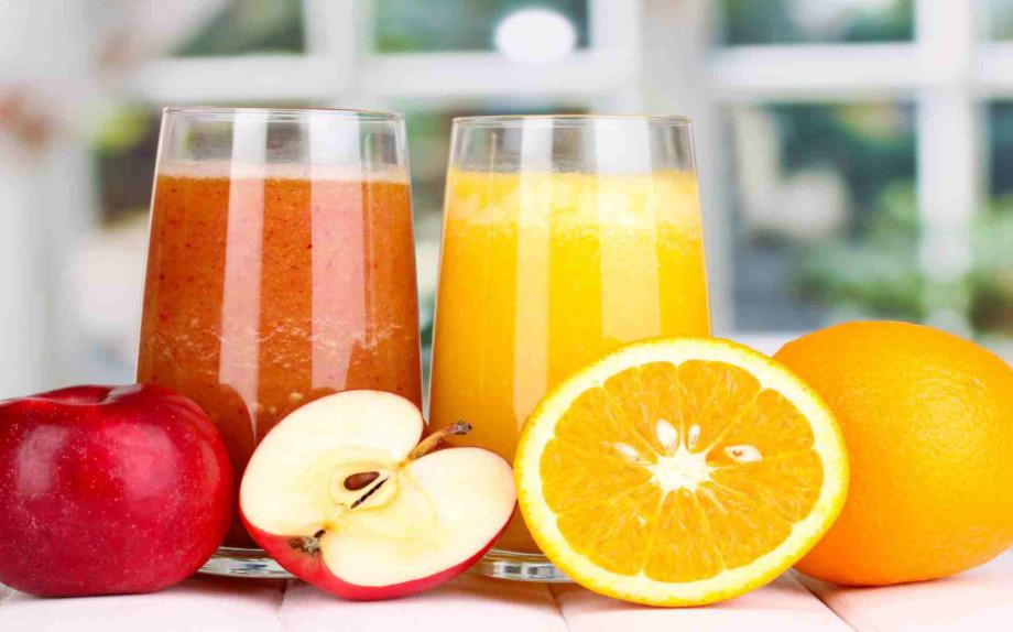 Frullato arancia mela