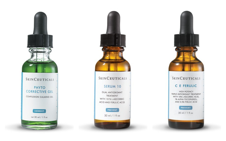 kiehl vs skinceuticals serums
