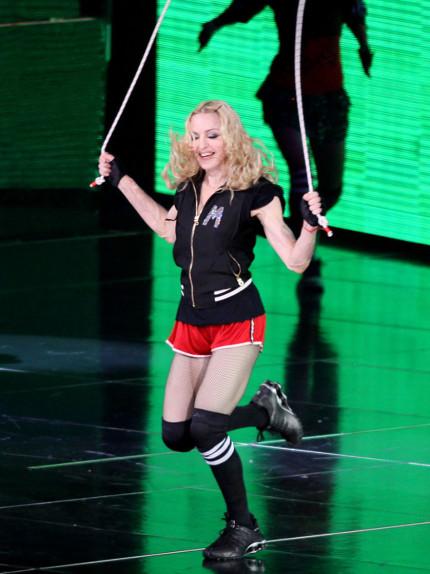Un corpo come Madonna? Prova il suo allenamento