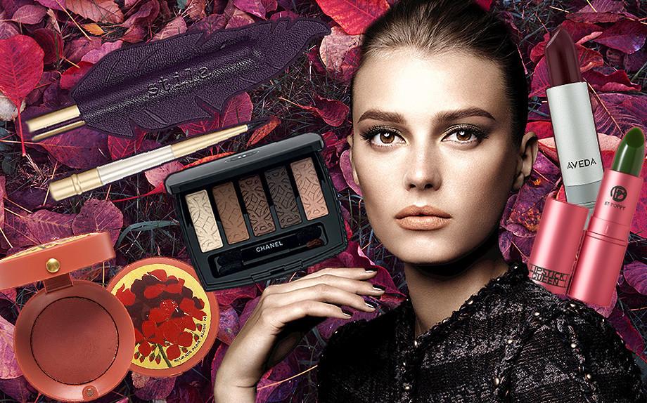 Make up Autunno 2015, i colori del bosco