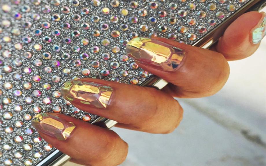 glass nail art inspiration