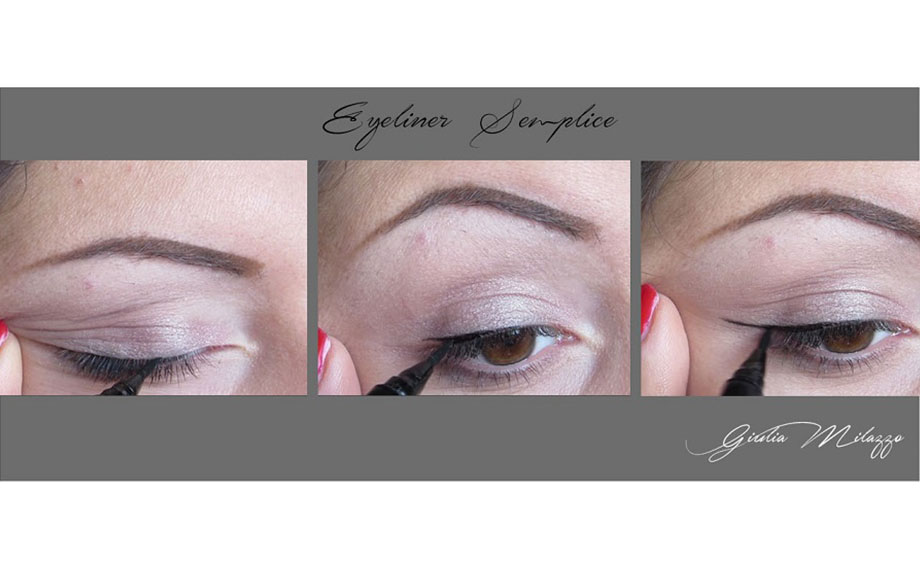 eyeliner semplice