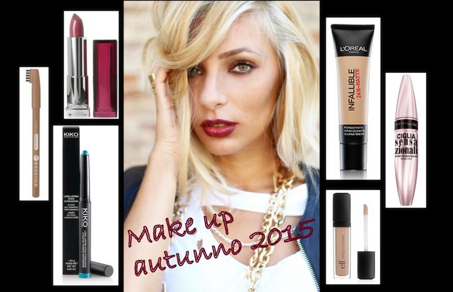 makeup autunno 2015