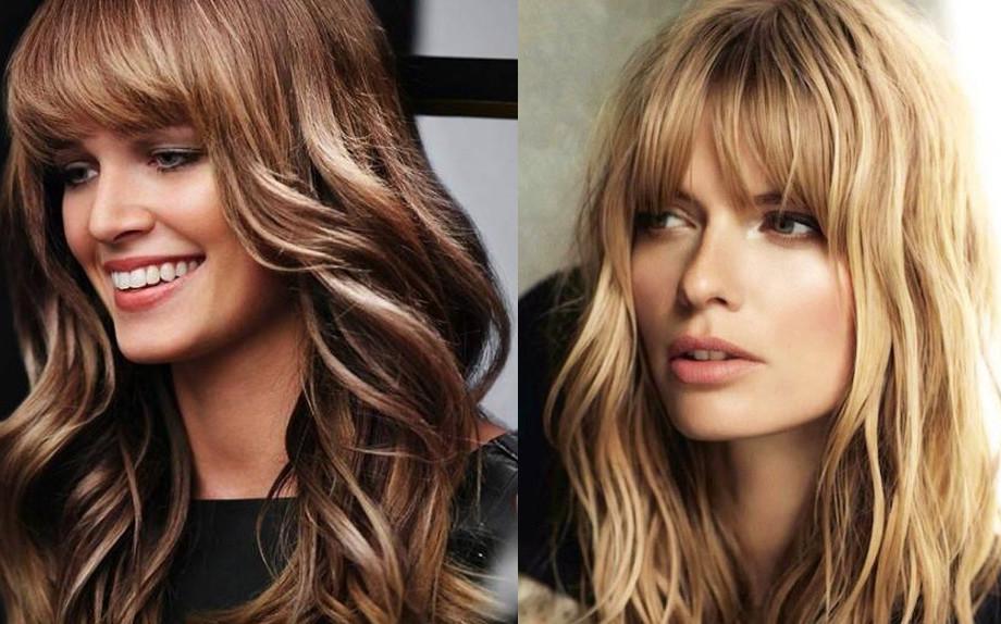 Frange lunghe capelli