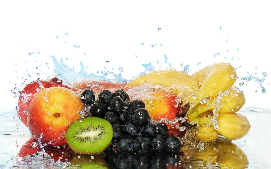Fruit-and-water